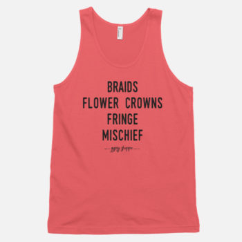 Braids-Flower-Crowns-Fringe-Mischief-Coral-Tank---Gypsy-Shoppe