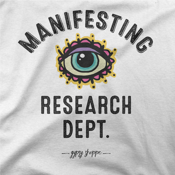 Manifesting Research Dept Tee Detail---Gypsy-Shoppe